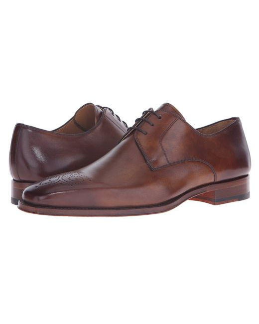 Magnanni Shoes - Brown Gerardo (tobaco) Men's Lace Up Casual Shoes for Men - Lyst