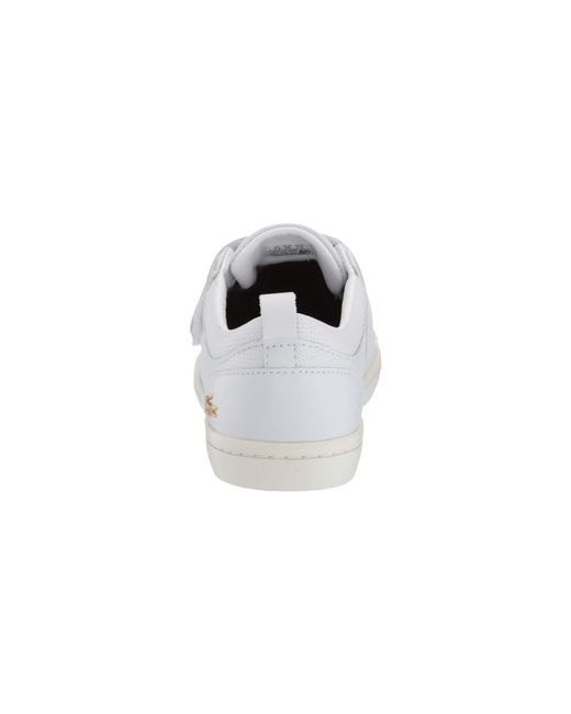 303ed82b74ef94 ... Lacoste - Straightset Strap 119 1 (grey off-white) Women s Shoes ...