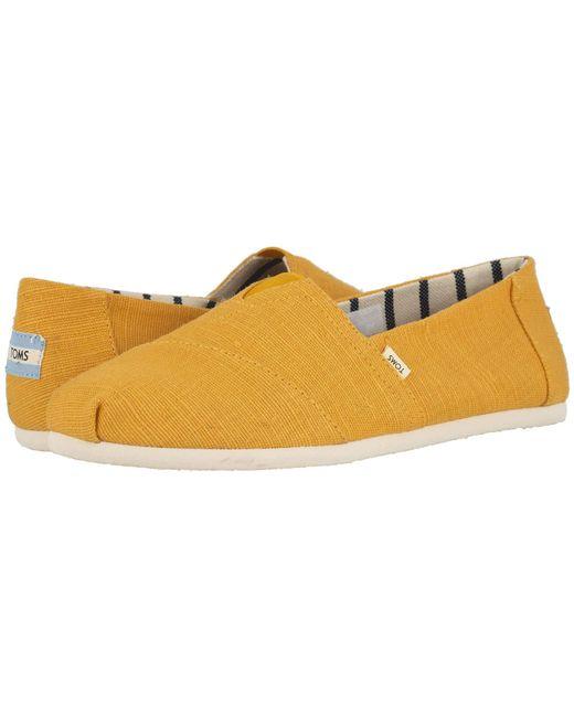 44ee2501cbf TOMS - Multicolor Venice Collection Alpargata (airforce Blue Heritage  Canvas) Men s Slip On Shoes ...
