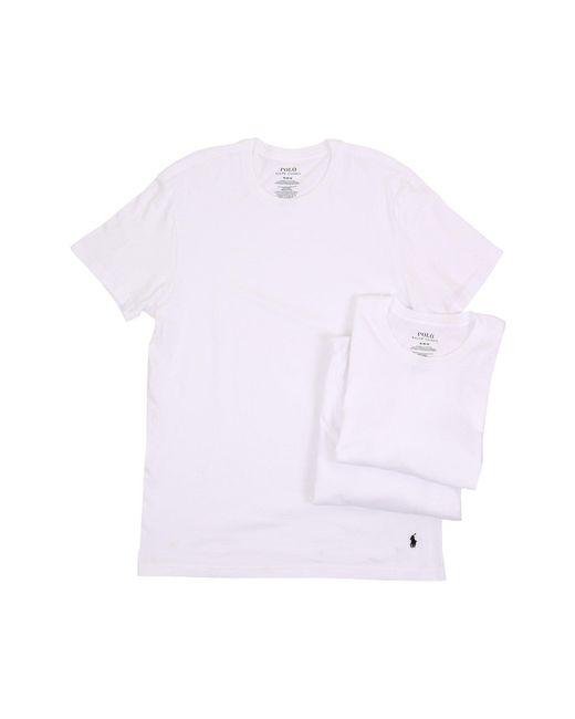 Polo Ralph Lauren | White 3-pack Crew T-shirt for Men | Lyst