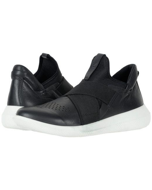 Ecco - Scinapse Band (black/black Yak Leather/textile) Women's Shoes - Lyst
