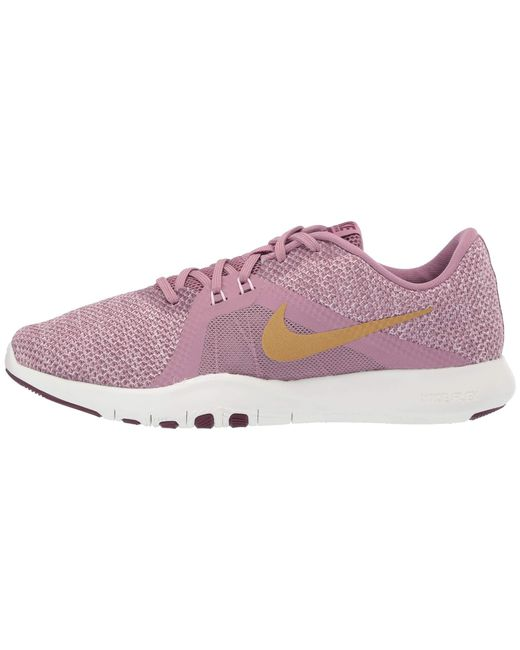 786b7ebb737 ... Nike - Multicolor Flex Trainer 8 Amp (plum Dust metallic Element Gold  pink ...