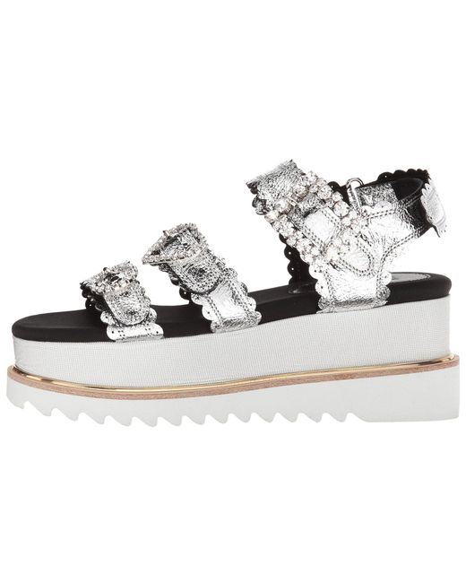Fake Clearance jewelled buckle sandals - Metallic Suecomma Bonnie For Sale Online From China Low Shipping Fee Fashionable Sale Online 5ARNSuNy