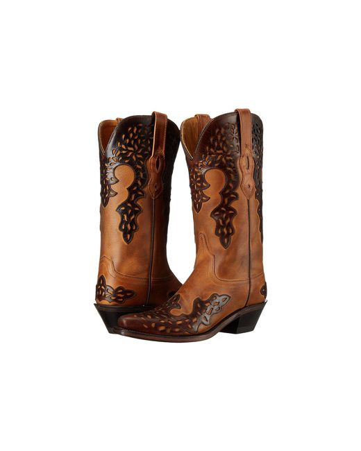 Old West Boots | Brown Lf1539 | Lyst