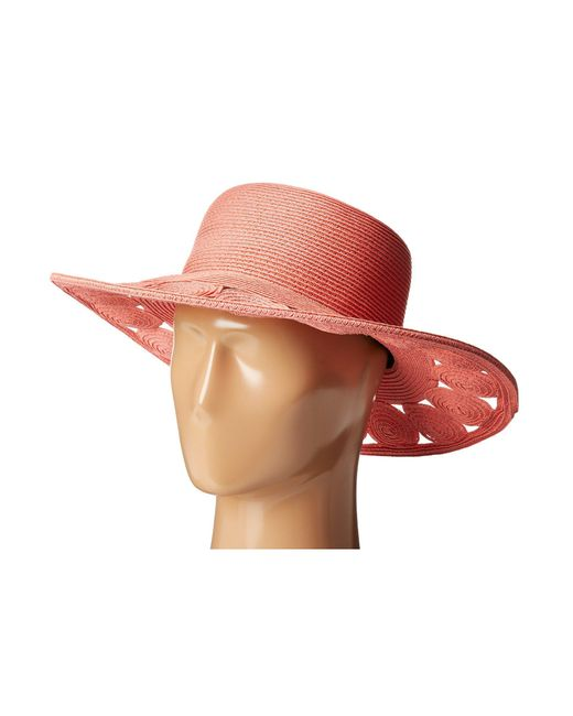 San Diego Hat Company - Pink Ubm4459 Ultrabraid Sun Brim Hat - Lyst