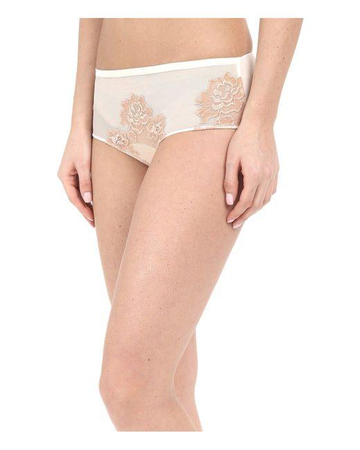 La Perla - White Privilege Boyshorts (ivory/nude) Women's Underwear - Lyst