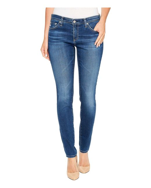 AG Jeans - Blue The Legging Ankle In 18 Years - Lyst