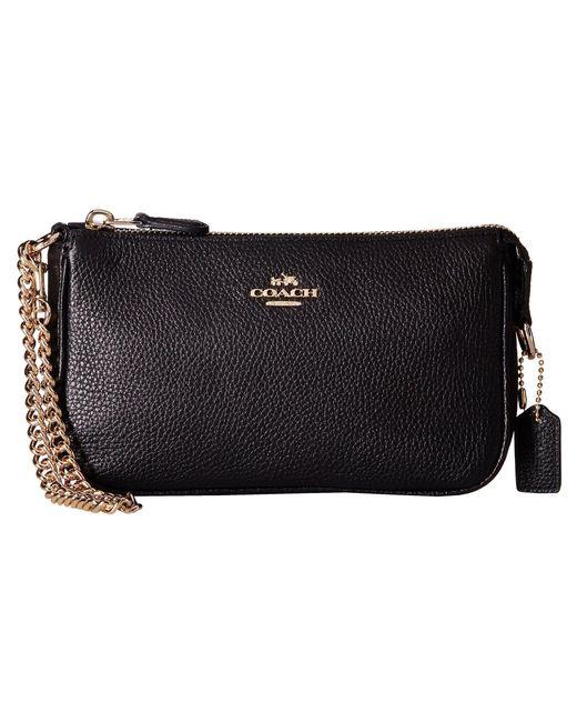COACH - Black Nolita 19 Shoulder Bag  - Lyst