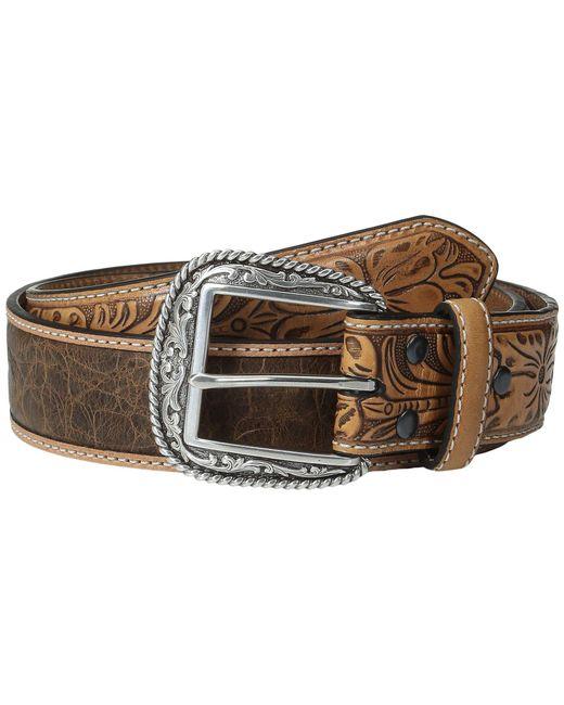 Ariat - Multicolor Croc Design Belt (tan) Men's Belts for Men - Lyst