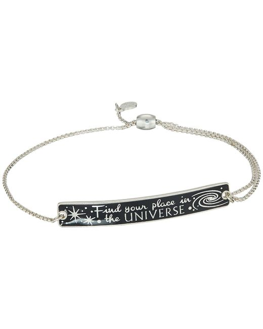 ALEX AND ANI - Metallic Wrinkle In Time - Find Your Place In The Universe Pull Chain Bracelet (14kt Rose Gold Plated) Bracelet - Lyst