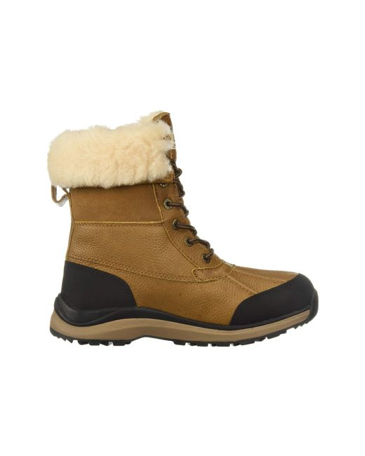 31a53f98c72 Lyst - UGG Adirondack Boot Iii (chestnut) Women's Cold Weather Boots ...