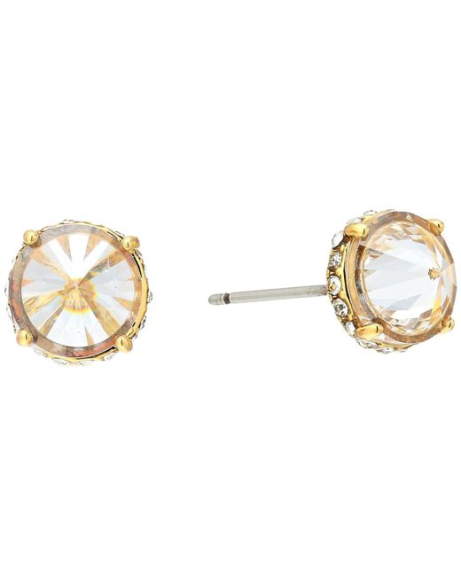 Vince Camuto - Metallic Cubic Zirconia Rivoli Stud Earrings - Lyst