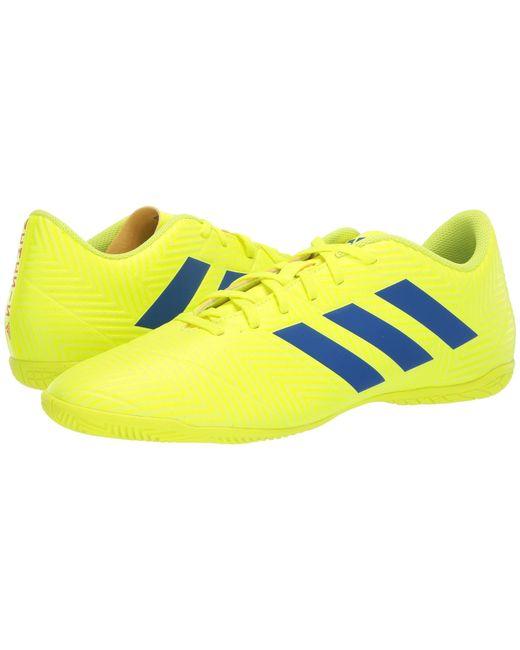 c74f9ed17a61 Adidas - Nemeziz 18.4 In (solar Yellow football Blue active Red) Men s ...