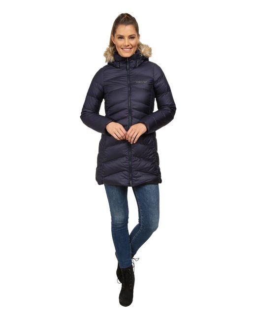 Marmot - Blue Montreaux Coat - Lyst