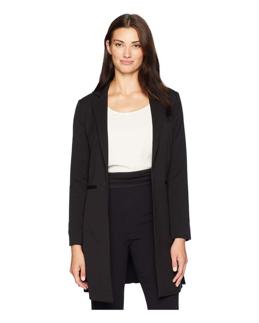 Kenneth Cole - Long Line Blazer (black) Women's Jacket - Lyst