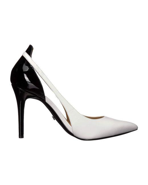 e19749f4f60 ... MICHAEL Michael Kors - Cersei Pump (optic White black Vachetta patent)  Women s ...