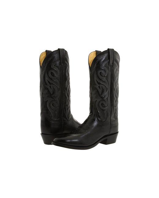 Dan Post - Milwaukee R Toe (black) Cowboy Boots for Men - Lyst