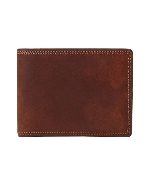 Bosca - Brown Dolce Collection - Executive I.d. Wallet (amber) Wallet Handbags for Men - Lyst