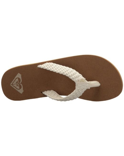 956934163208 Lyst - Roxy Porto Ii (cream) Women s Sandals