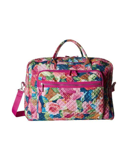 Vera Bradley - Multicolor Iconic Grand Weekender Travel Bag (superbloom) Weekender/overnight Luggage - Lyst