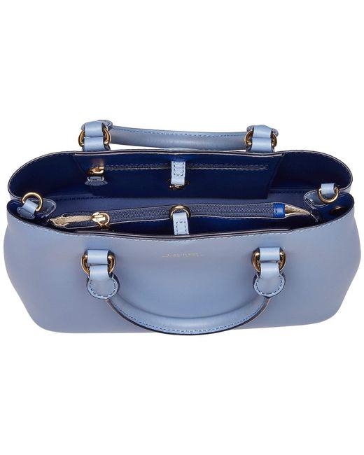 28d93bd92b ... Lauren by Ralph Lauren - Dryden Mini Marcy (blue Mist cosmic Blue)  Handbags ...