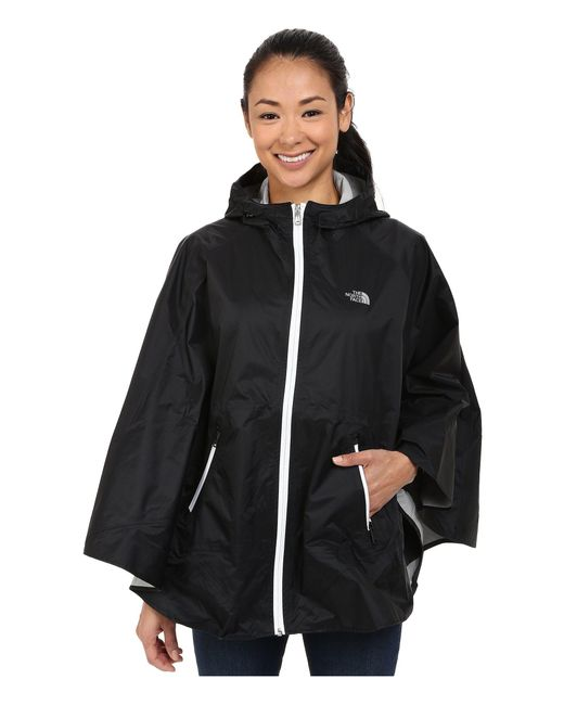 The North Face - Mindfully Designed Poncho (tnf Black (prior Season)) Women's Coat - Lyst