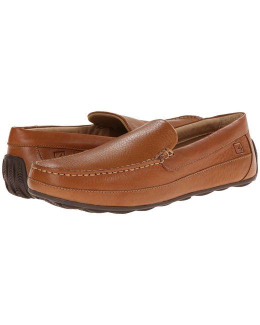 Sperry Top-Sider - Brown Hampden Venetian (sahara) Men's Slip On Shoes for Men - Lyst