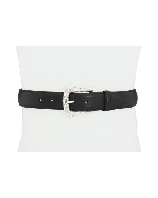 Ariat - Black Western Basic Belt (adobe Clay Perforated Edge) Men's Belts for Men - Lyst