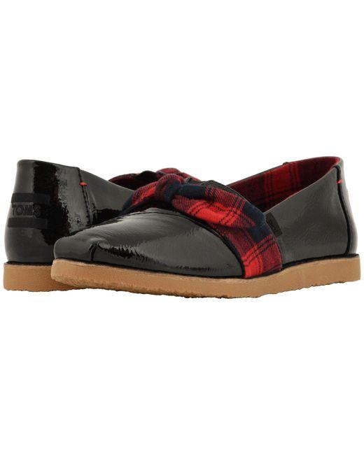 TOMS - Black Alpargata (burnt Henna/good Vibes) Women's Shoes - Lyst