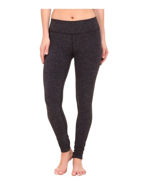 Beyond Yoga - Black Spacedye Long Essential Leggings - Lyst