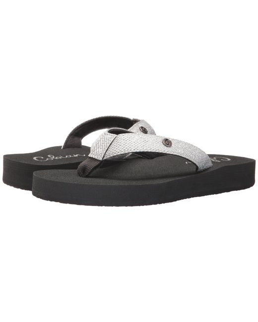 Cobian - White Cancun Bounce (black) Women's Sandals - Lyst