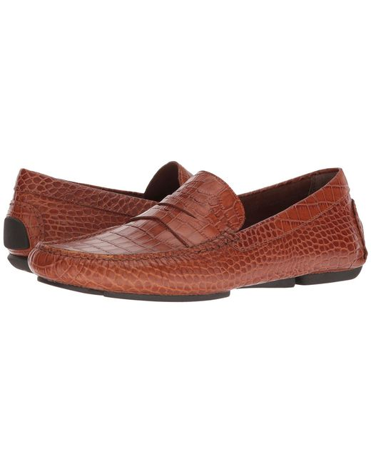 Donald J Pliner - Brown Vinco5 (blue) Men's Shoes for Men - Lyst