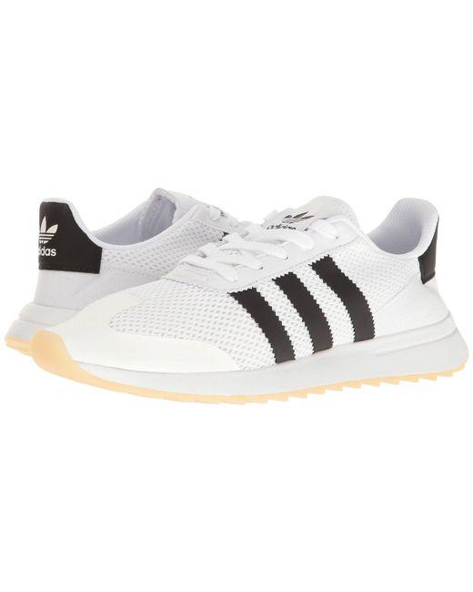 64f4ff0661f Adidas Originals - Flashback (white black) Women s Running Shoes - Lyst ...