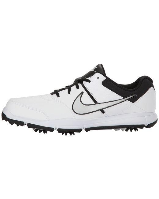... Nike - Durasport 4 (black metallic Silver black) Men s Golf Shoes for  ... ed3ce4bb9