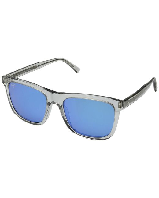 b9dcd07a67 Maui Jim - Velzyland (light Grey Crystal/blue Hawaii) Sport Sunglasses -  Lyst .