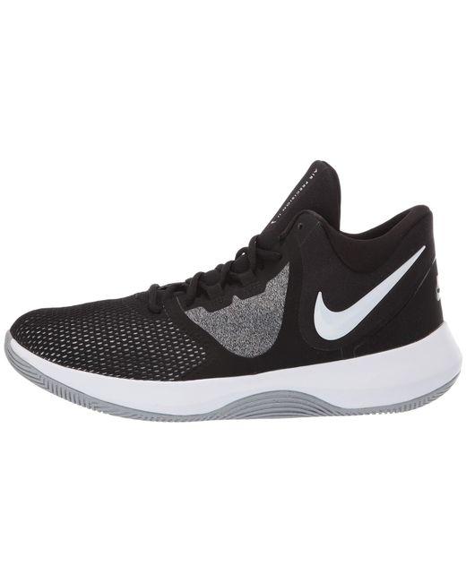 Lyst - Nike Air Precision Ii (cool Grey black white wolf Grey) Men s ... ae67dee2c