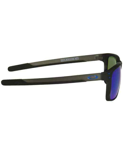 ... Oakley - Holbrook Mix (matte Black Tortoise prizm Sapphire Polarized)  Sport Sunglasses for ... 17d1ce4b4b