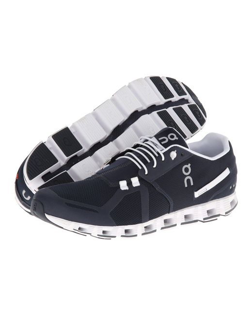 On - Cloud (navy/white) Men's Running Shoes for Men - Lyst