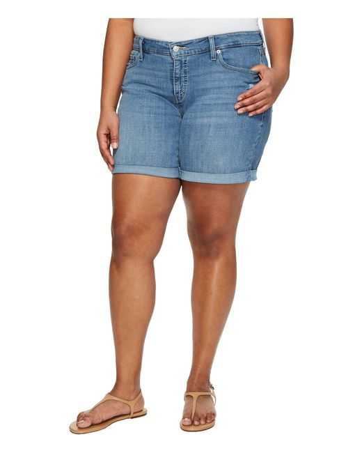Levi's - Blue Levi's(r) Plus New Shorts (ocean Stroll) Women's Shorts - Lyst
