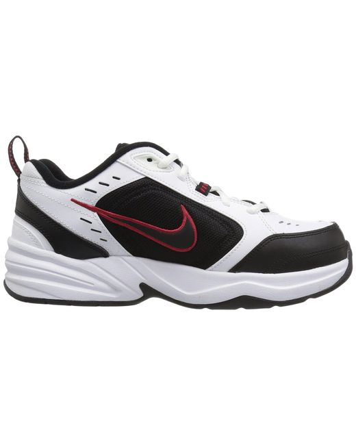 9a911e3c52b ... Nike - White Air Monarch Iv (black black) Men s Cross Training Shoes  for ...