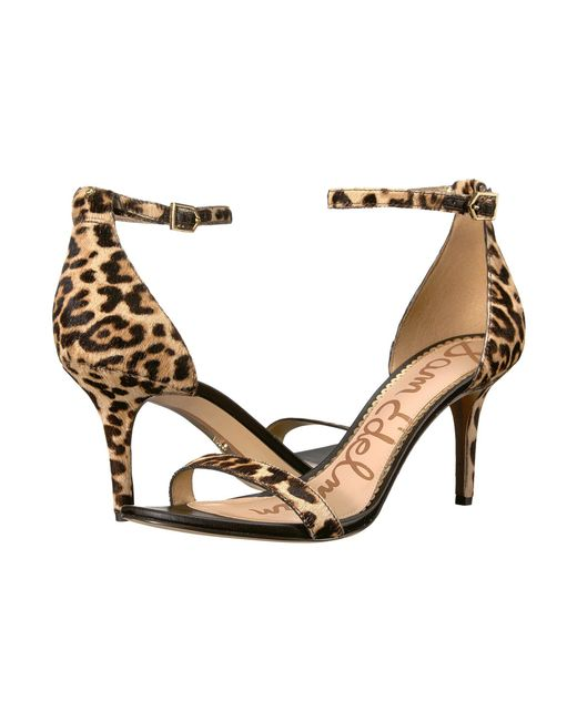 178481d83 Sam Edelman - Natural Patti Strappy Sandal Heel (light Gold Leather) High  Heels ...