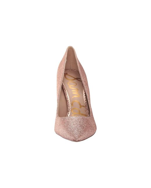 8e91620a15a ... Sam Edelman - Pink Hazel (molten Gold New Glamour Lizard Print Leather)  Women s Shoes