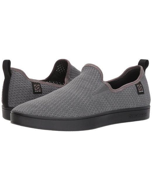 Five Ten - Gray Sleuth Slip-on Woven (grey) Men's Shoes for Men - Lyst