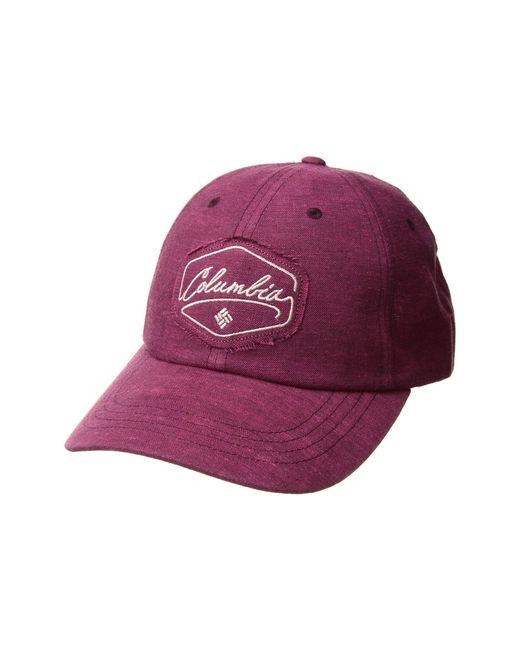 Columbia - Purple Summer Timetm Ball Cap (wine Berry patch) Caps - Lyst ... 9b830fe389f
