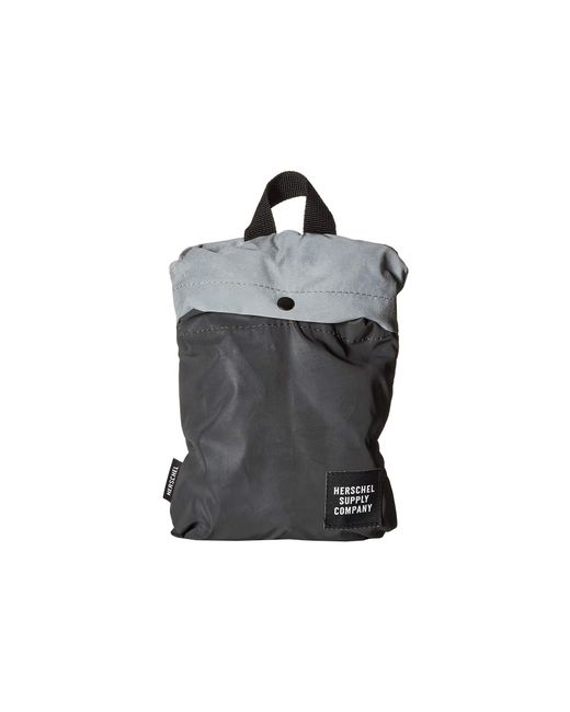939198f252d ... Herschel Supply Co. - Packable Daypack (black Reflective silver  Reflective) Day Pack ...