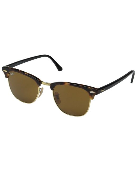 Ray-Ban - Brown Clubmaster 49mm for Men - Lyst