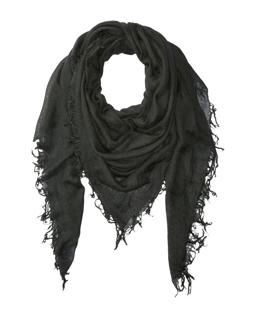 Chan Luu - Gray Cashmere And Silk Scarf (eggshell) Scarves - Lyst