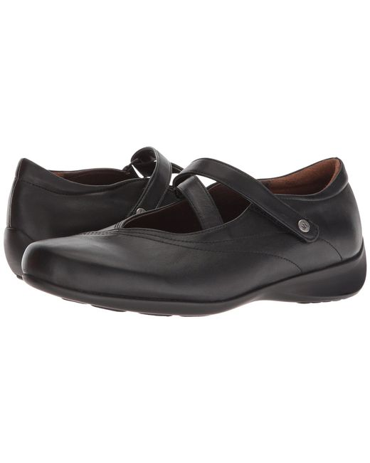 Wolky - Passion (black Smooth Leather) Women's Flat Shoes - Lyst
