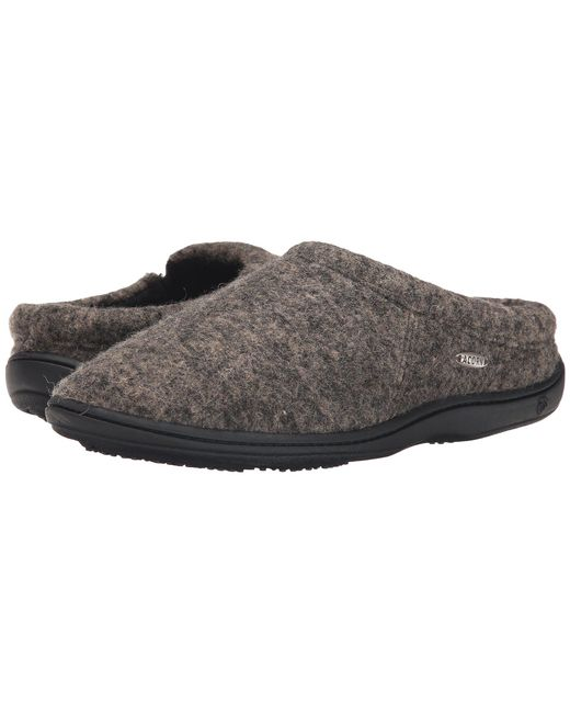 Acorn - Gray Digby Gore (black Tweed) Men's Slippers for Men - Lyst