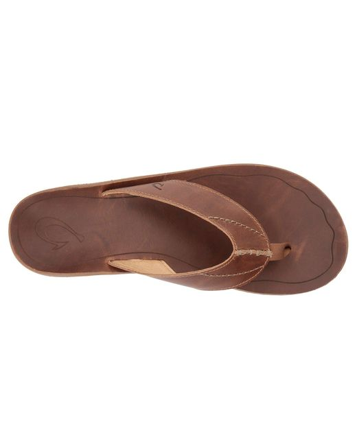 4200dbd4401c Lyst - Olukai Nohona  ili (black black) Men s Sandals in Brown for Men